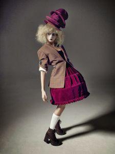 ID Magazine  Photographer- Richard Bush  Model- Cara Delevingne  Styling- Sarah Richardson