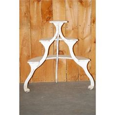 Curved Demilune Plant Stand