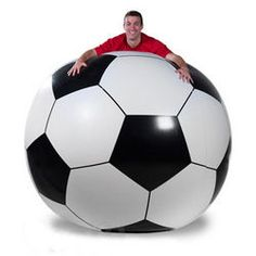 Giant Inflatable 6 Foot Soccer Ball