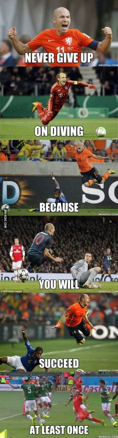 What I learned from Robben