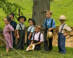 Ohio Amish children