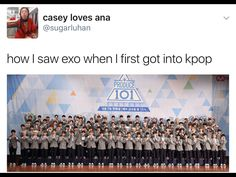 when i got into kpop exo hadn't debuted yet so this is how i saw suju and i was so scared to stan bc of that