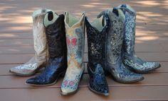 Kentucky Vintage Bluebird Fashion Western Boots By Dan