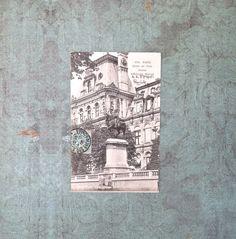 Antique French Postcard of Paris hotel de by DuncanGrantAntiques