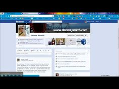 Add your Facebook Fan Page to your personal profile as your place of work.    http://www.dennisjsmith.com
