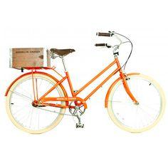 Bike Retrô laranja!