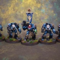 Painting my Ultramarine Army – Part 2