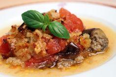 Eggplant-Tomato Gratin