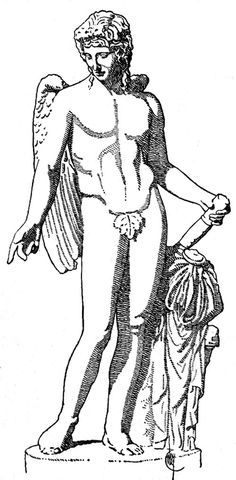 Greek Gods and Goddesses :: Eros God of love........otherwise known as cupid......does Aphrodite's bidding