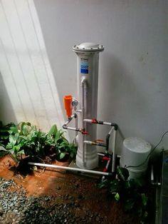 Pemasangan Penjernih Air Sumur di Serpong. Alat Penyaring Air Sumur mampu menjernihkan air kuning, keruh, bau dan berkapur di rumah anda.
