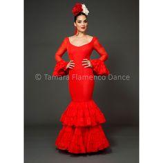 trajes-de-flamenca-2015-granada-rojo.jpg (1200×1200)