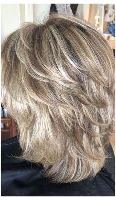 Medium Layered Haircuts, Medium Hair Cuts, Medium Hair Styles, Short Hair Styles, Short To Medium Hair, Women Hair Styles, Women Hair Cuts, Medium Textured Hair, Medium Length Hair Cuts With Layers