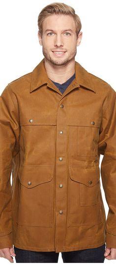 Filson Tin Cruiser Extra Long (Dark Tan) Men's Clothing - Filson, Tin Cruiser Extra Long, 11010006, Apparel Top General, Top, Top, Apparel, Clothes Clothing, Gift, - Fashion Ideas To Inspire