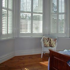 Bedroom shutters the perfect solution for your home. Offering the perfect light and shade solutions for your bedroom. Bedroom shutters make a room! Bay Window Shutters, Bedroom Shutters, Bedroom Windows, Curtain Alternatives, Fashion Room, My Dream Home, Valance Curtains, Blinds, House
