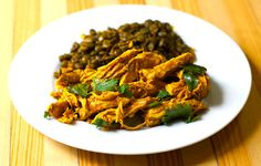 Easy Stovetop Pulled Indian Chicken (paleo)
