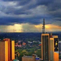 Those days when the sun can't make it through Street Art Photography, Make It Through, Cn Tower, Kenya, Sun, World, Building, Travel, Beautiful