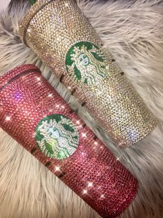 how to apply bling Personalized Starbucks Cup, Custom Starbucks Cup, Pink Starbucks, Starbucks Logo, Starbucks Tumbler, Starbucks Coffee, Starbucks Diys, Bebidas Do Starbucks, Secret Starbucks Drinks