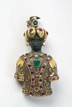 blackamoor jewelry. I actually have 4 pieces.