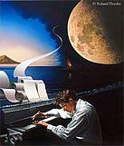 pinturas surrealistas de Roland Heyder