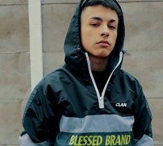 Trueno Mc, Nike Jacket, Rain Jacket, Freestyle Rap, Perfect Boy, Male Poses, Handsome Boys, My Boyfriend, Urban Fashion