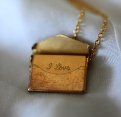 A letter locket...she makes ones that say 'te quiero' .... love these!! Addicted to etsy.