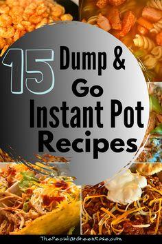 Easy Chicken Dinner Recipes, Instant Pot Dinner Recipes, Healthy Dinner Recipes, Instant Recipes, Lunch Recipes, Delicious Recipes, Instant Pot Spaghetti Recipe, Best Instant Pot Recipe, Instant Pot Pressure Cooker