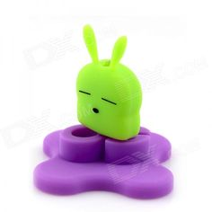 Universal Infrared Remote Control for Cell Phone / TV / Air Conditioner - Green + Purple