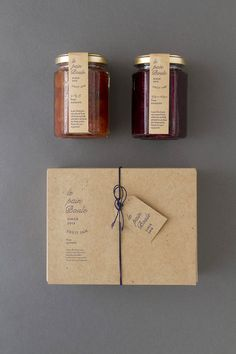 Le pain boule / Package design for jam