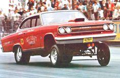 Bill Kraft's Rambler Marlin altered wheelbase A/FX drag car. Amc Gremlin, Nhra Drag Racing, Auto Racing, Old Race Cars, American Motors, Drag Cars, Vintage Racing, Car Humor, Car Photos