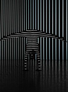 Dancers move this interactive light show - CNET