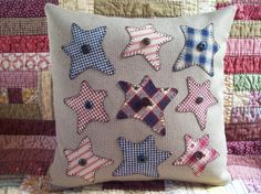 Hey, I found this really awesome Etsy listing at http://www.etsy.com/listing/152511090/rustic-stars-summer-holiday-pillow
