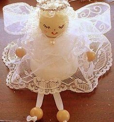 ❤ Clay pot Christmas angel ornament ❤Mindy -  craft idea & DIY tutorial collection