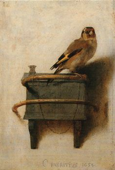"""""""The Goldfinch"""" by Carel Fabritius"""