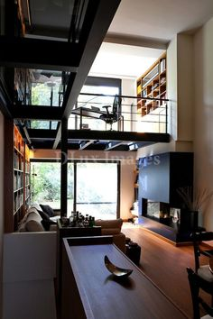 C… Awesome Cool Ideas: Contemporary Fireplace Surround contemporary bedroom decor. Modern Contemporary Living Room, Contemporary Stairs, Contemporary Design, Contemporary Furniture, Contemporary Chandelier, Contemporary Wallpaper, Contemporary Building, Contemporary Apartment, Contemporary Kitchens