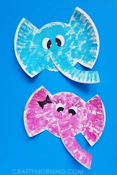 Paper Plate Elephant Kids Craft - 20 Creative Elephant Crafts for Kids To DIY - DIY & Crafts tolle Jungle Crafts, Animal Crafts For Kids, Circus Animal Crafts, Dinosaur Crafts, Ocean Crafts, Paper Plate Crafts For Kids, Crafts For Kids To Make, Kids Diy, Art And Craft