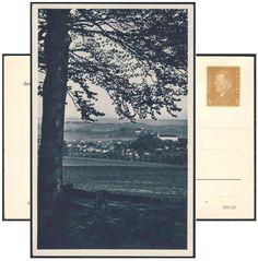"""Germany, German Empire, Deutsches Reich 1932, 3 Pfg.-GA-Privatpostkarte """"Briefmarken-Schau Schleiz"""", ungebraucht (Mi.-Nr.PP 106/C 14). Price Estimate (8/2016): 30 EUR. Unsold."""