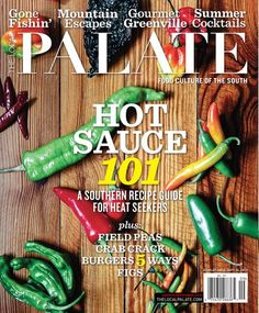 See the Gourmet Greenville feature in the September Local Palate!