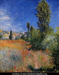 Landscape-On-The-Ile-Saint-Martin- Claude MONET