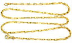 Foto 2, Steganker-Kette massiv Gelbgold 18K 71cm Shop Portofrei, K2818