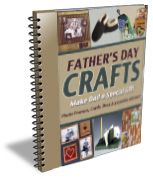 Father's Day craft, free PDF book!