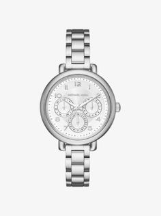 Sleek and sophisticated, our silver-tone Kohen watch features a slim silhouette that gives it a minimalist look and feel. Style it with a complementing cuff or wear it solo for a timeless finish to any ensemble.