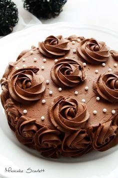 MASCAKE SCARLETT: TARTA DELICIA DE CHOCOLATE (para una noche buena, que no falte chocolate!)