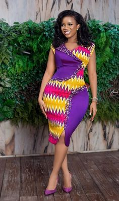 How to Look Classic Like Serwaa Amihere - 30 Outfits Best African Dresses, Latest African Fashion Dresses, African Print Dresses, African Print Fashion, African Attire, Africa Fashion, Ankara Fashion, African Prints, African Fabric