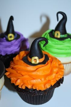 witch cupcakes -- so cute
