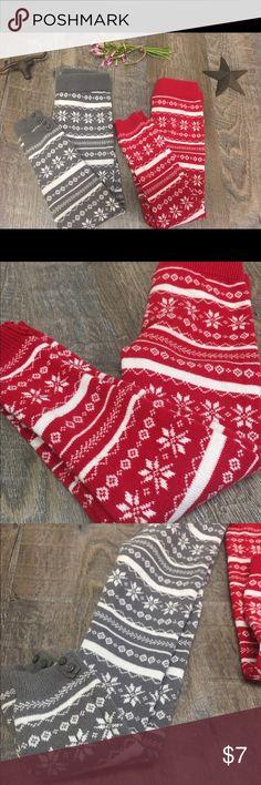 Girls sweater legging size 4 Girls crazy 8 sweater leggings wide waistband button bottom cuffs crazy 8 Accessories Socks & Tights