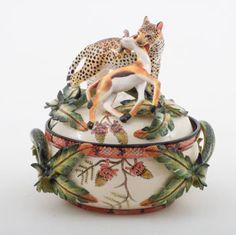 Ardmore Ceramics Leopard Tureen AAA