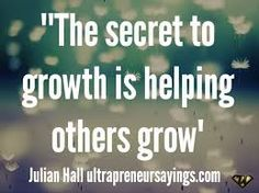 The secret to growth