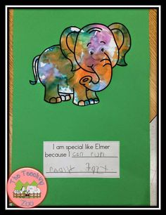 41 New Ideas For Zoo Animal Art Writing Prompts Kindergarten Writing, Kids Writing, Writing Ideas, Kindergarten Activities, Writing Activities, Bullying Activities, Child Guidance, Guidance Lessons, Elmer The Elephants