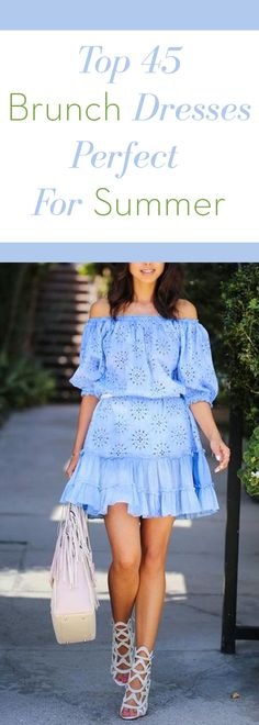 Top 45 brunch dresses perfect for summer.