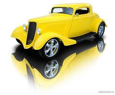 1934 Ford Custom Coupe 350 V8 TH350 10 Bolt Positraction